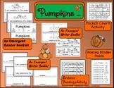 Pumpkins- An Emergent Reader and Writer Booklet, Pocket Ch