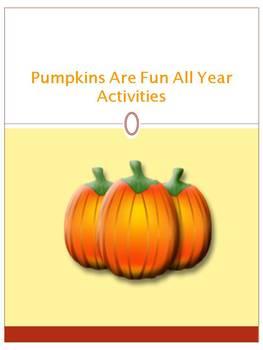 Pumpkins Are Fun Activities