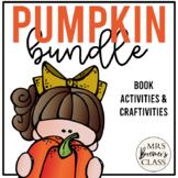 Pumpkins Book Study Bundle   Book Studies and Craftivities