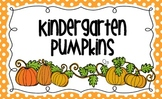 Pumpkins Bulletin Board Title