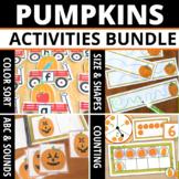 Pumpkin Activities for Preschool and PreK