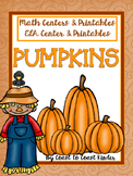 Pumpkins- CCSS Aligned ELA & Math Centers and Black Ink Practice
