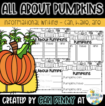 Pumpkins: Can, Have, Are