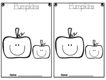 Pumpkins: Can, Have, Are Foldable