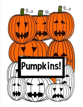 Pumpkins Clip Art - Jack-o'-lanterns