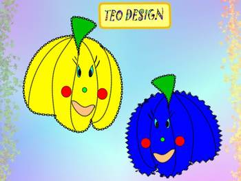 Pumpkins - Clip Art - Personal or Commercial Use