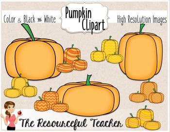 Pumpkins Clipart Bundle