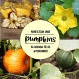 Pumpkins Nonfiction Close Reading & Visual Vocabulary Unit