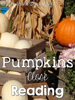 Pumpkins Close Reading Pack