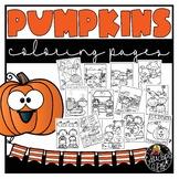 Pumpkins Coloring Book {Educlips Resources}