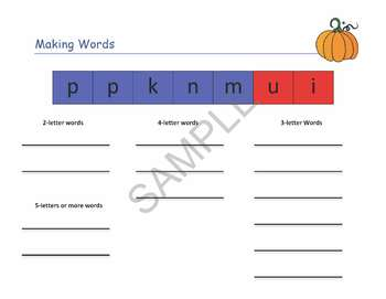 """Pumpkins"" Common Core Aligned Math and Literacy Unit - ACTIVboard EDITION"