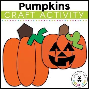 Pumpkins Cut and Paste