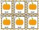 Pumpkins~ Editable Write the Room