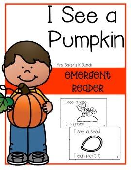 Pumpkins Non-Fiction Emergent Reader