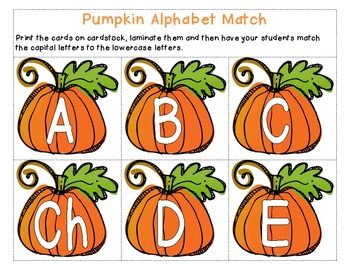 Pumpkins Everywhere (Bilingual Unit)