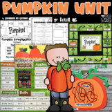 Pumpkin Unit Guided Reading With a Purpose