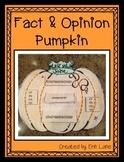 Pumpkins- Fact and Opinion Pumpkins (bulletin board display too)!
