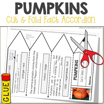 Pumpkins Facts Foldable Accordion