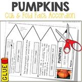 Pumpkins Facts Foldable Accordion