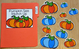 "Pumpkins File Folder Game: ""Pumpkins Size Match Up"""