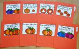 Pumpkins File Folder Games Mini-Bundle