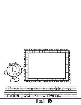 Pumpkins Flipbook and Observation Journal