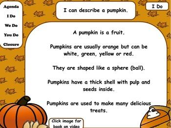Pumpkins: Flipchart and Activities