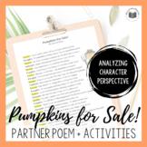 """Pumpkins For Sale!"" {A Seasonal Partner Poem}"