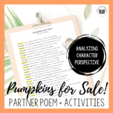 """Pumpkins For Sale!"" {A Seasonal Partner Poem}"