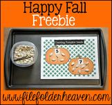 Pumpkins Free:  Counting Pumpkin Seeds