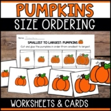 Pumpkins Size Ordering (From Smallest to Largest)
