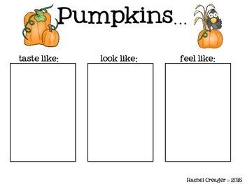 Pumpkins Galore! A Primary Writing Bundle