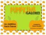 Pumpkins Galore! An Addition Math Facts Game