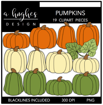 Pumpkins {Graphics for Commercial Use}