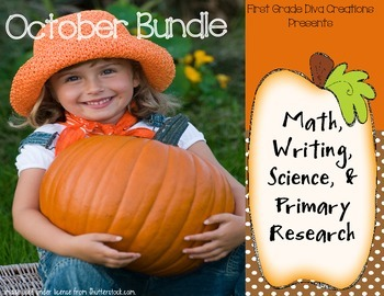 Pumpkin and Other Fall Fun~Math, Writing, & Research Activ