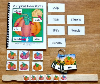 Pumpkins Have Parts Adapted Books Unit