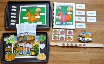 Pumpkins Have Parts Adapted Books Unit