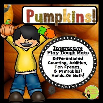 Play Dough Mats & Printables: Pumpkins