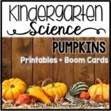 Pumpkins Kindergarten Science NGSS