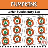 Pumpkins Letter Matching Busy Box