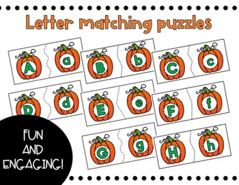 Pumpkins Letter Matching Busy Box