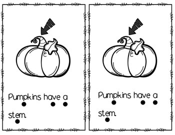 Pumpkins Leveled Readers