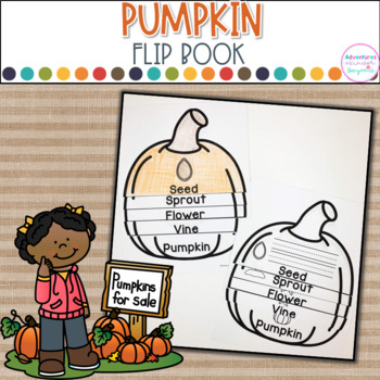 Pumpkin-Life Cycle Flip Book