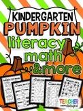 Pumpkins: Literacy, Math, and More - Kindergarten