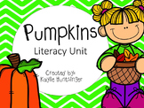 Pumpkin Literacy Unit