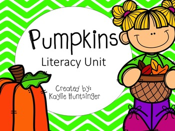 Pumpkin Literacy Unit