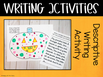 Pumpkin Day: Writing and Math Activities