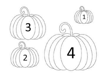 Pumpkins Little to Big