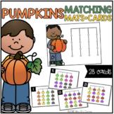Pumpkins Matching Mats and Activity Cards (Patterns, Color
