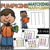Pumpkins Matching Mats and Activity Cards (Patterns, Color